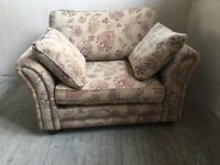 Snuggler Chair and matching Grand Sofa. Showroom Excess Stock To Clear. NEW! Was £2700. Now £1200.