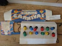 old style carnival lights