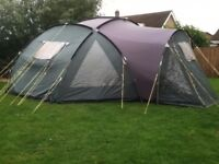 Six person tent very spacious