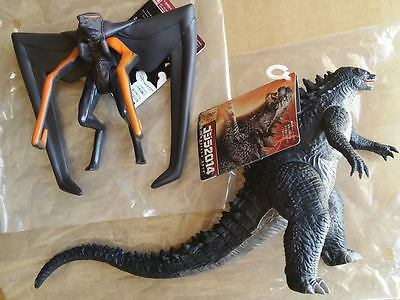 GODZILLA 2014 and MUTO Vinyl Figure SET from JAPAN by BANDAI