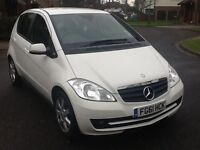 Mercedes A class A160 2011 61 reg fsh low miles alloys 1 lady owner