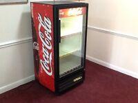 Genuine/original USA 1990's Coca Cola fridge/cooler
