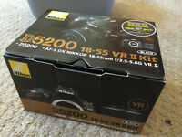 As New Nikon D5200 Kit (Sell or Swap)