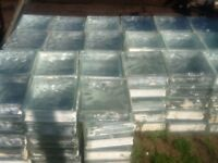 Glass bricks £1 each