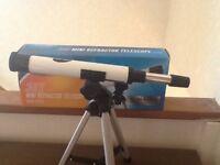 30 x mini refractor telescope ( Now Sold )