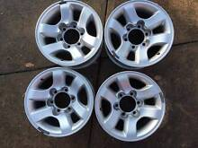 2002 Toyota Hilux SR5 15x7 Alloy wheels x4 Dural Hornsby Area Preview