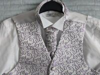 BHS 3 piece wedding suit - boys age 12. RRP £65 - worn for 2 hours