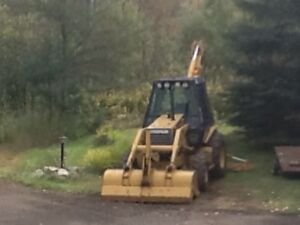 Backhoe for hire