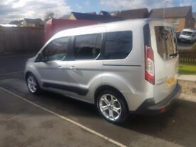 2014 FORD CONNECT TOURNEO ZETEC 5 SEAT VAN/ESTATE 1.6 TDCI WITH MANUAL GEARBOX