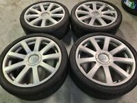 "20"" GENUINE AUDI S8 FINAL EDITION ALLOY WHEELS / TYRES"
