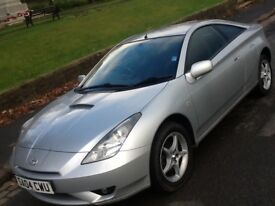 2004 TOYOTA CELICA 1.8 VVTI COUPE IN SUPERB CONDITION AND DRIVES LIKE NEW