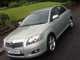 2006 TOYOTA AVENSIS 2.2 D4D T180 WITH SAT NAV AND LEATHER AND DRIVES LIKE NEW