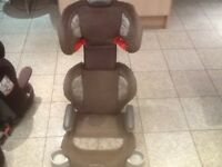 For 4yrs to 12yrs(15kg to 36kg)Graco 2piece full highback booster car seat -padded,washed&cleaned