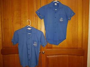 Hills International College blue shirt size 8 x 2 Buccan Logan Area Preview