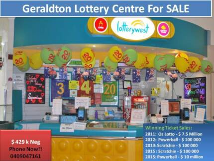 GERALDTON LOTTERY CENTRE - FOR SALE! $435k Neg Geraldton 6530 Geraldton City Preview