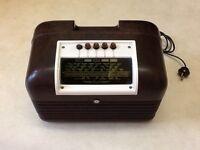 Vintage Bakelite Radio in working order