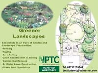 Professional Garden Construction and Maintenance Services
