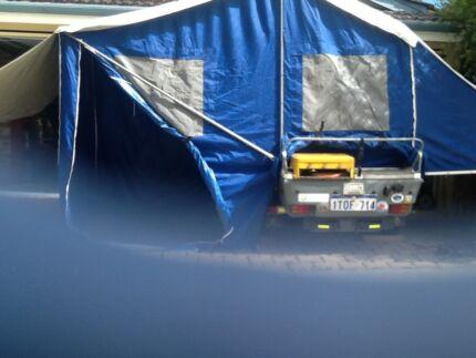*** Excellent Camper Trailer for car or motorbike ***