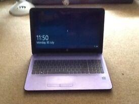 Purple HP Laptop Notebook
