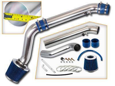 Blue Civic Air Intake System - BCP BLUE 1996 1997 1998 Civic HX EX 1.6L L4 Cold Air Intake System + Filter