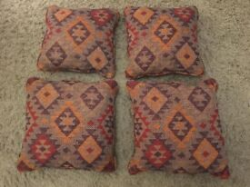 Cushions x 4. Two different sizes