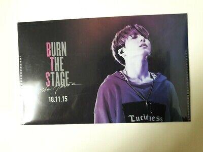BTS BURN THE STAGE Japan Official Jungkook Ticket Holder Plastic Folder Cheap