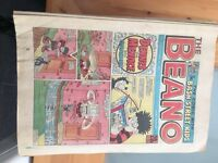 Beano Comics from 1986 and 1987