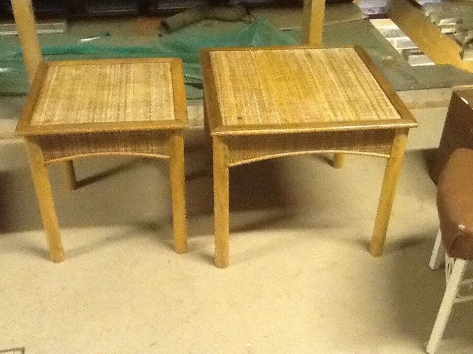 Pair of occasional tables