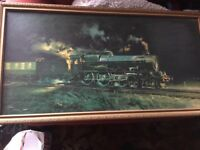 WANTED Railway paintings or prints on canvas