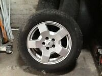 Land Rover alloy wheels x4 for sale