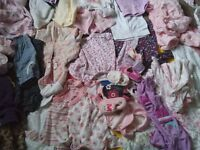 Baby girls clothes - 0 to 6 months