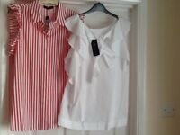 Marks and spencer 2 blouses brand new size 16