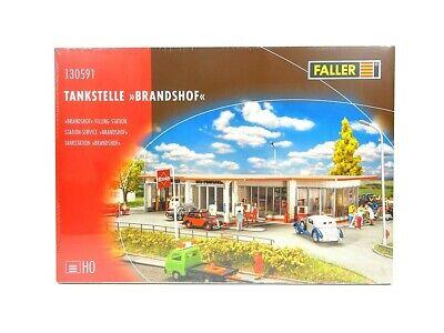 Modellbahn Bausatz Tankstelle Brandshof, Faller H0 130591 neu