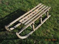 Sledge - traditional wooden sledge