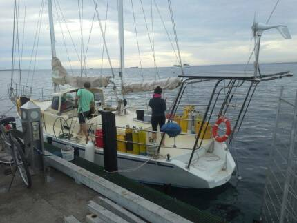 12 Meter Cruising Yacht and best located Mangles Bay Mooring