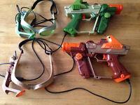 2 x Tiger Electronics Lazer Tag Guns (Game)