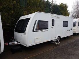 2014 Lunar Clubman SE 4 Berth Caravan FIXED BED MOTOR MOVER