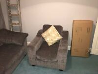 Corner couch & chair