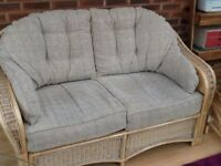 Convervatory sofa, chair and coffee table
