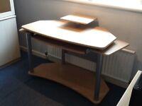 Desk , melamine
