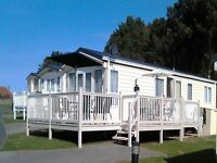 8 Berth Caravan to rent Waterside holiday park