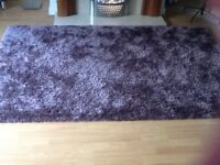 Large rug 150x240 as new condition £45 also large mirror 102x72