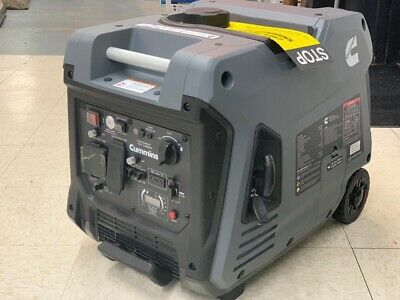 Cummins Onan P4500i Portable Generator Invertere-startquiet18hr Run Time