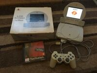 psone ps1 with Sony LCD screen
