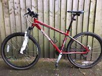 2011 Kona Cindercone 16'' Mountain Bike XC Hardtail