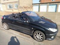Peugeot 206cc 2.0l 250 pound no offers