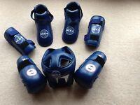 Kick boxing kit.