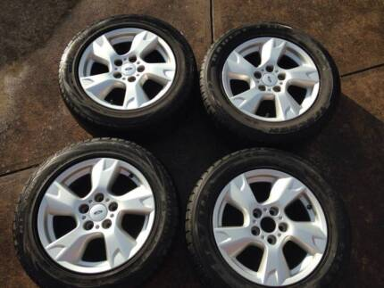 """Ford BF Falcon 1Ton Ute 16"""" alloy wheels x 4 Galston Hornsby Area Preview"""