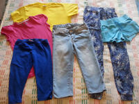 bundle of girl clothes 9-10 years