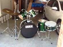 "Drum Kit ""PEACE"" 5 piece $300 North Gosford Gosford Area Preview"